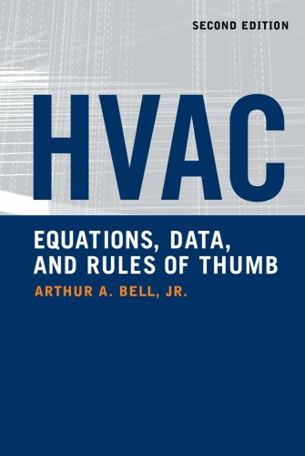 HVAC Equations, Data, and Rules of Thumb  2nd 2008 (Revised) edition cover