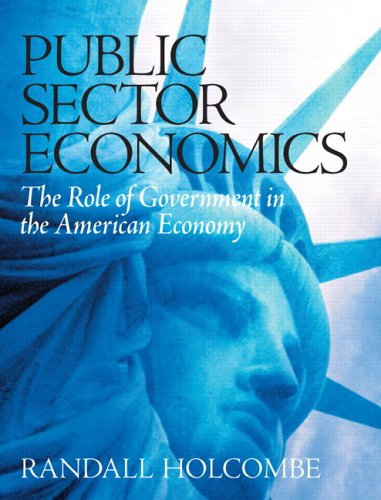 Public Sector Economics The Role of Government in the American Economy  2006 edition cover