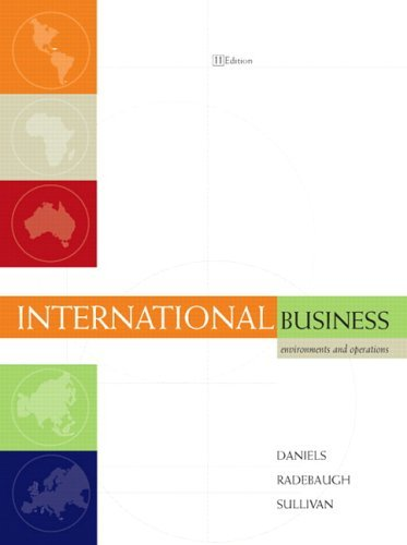 International Business Environments and Operations 11th 2007 (Revised) edition cover