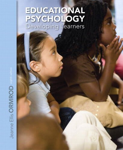 Educational Psychology Developing Learners 8th 2014 edition cover
