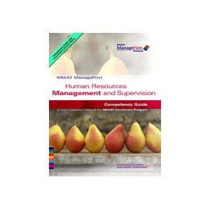 ManageFirst Human Resources Management and Supervision with Pencil/Paper Exam and Test Prep   2007 9780135072424 Front Cover
