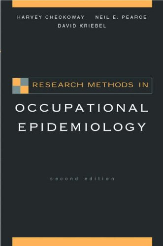 Research Methods in Occupational Epidemiology  2nd 2004 (Revised) edition cover