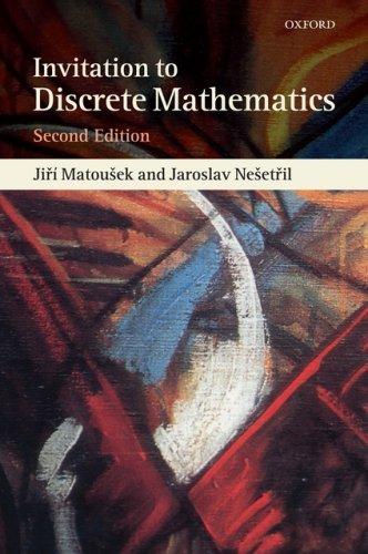 Invitation to Discrete Mathematics  2nd 2008 edition cover