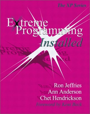 Extreme Programming Installed   2001 edition cover