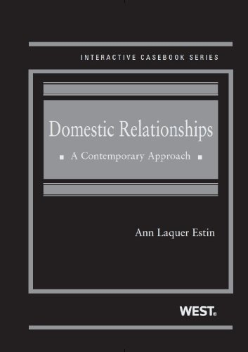Domestic Relationships: A Contemporary Approach  2013 edition cover
