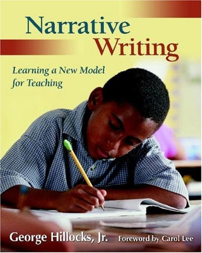 Narrative Writing Learning a New Model for Teaching  2006 edition cover
