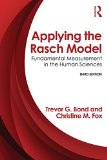 Applying the Rasch Model Fundamental Measurement in the Human Sciences, Third Edition 3rd 2015 (Revised) edition cover