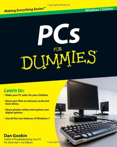 PCs for Dummies  7th 2010 edition cover