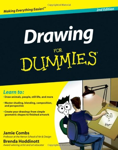 Drawing for Dummies�  2nd 2011 edition cover