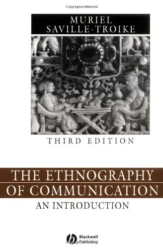 Ethnography of Communication An Introduction 3rd 2002 (Revised) edition cover