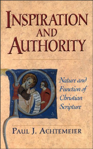 Inspiration of Scripture: Problems and Proposals  N/A edition cover