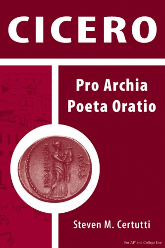 Cicero Pro Archia Poeta Oratio 2nd 2006 (Student Manual, Study Guide, etc.) edition cover