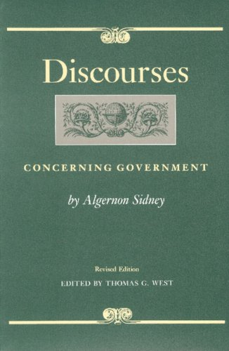 Discourses Concerning Government  2nd (Revised) edition cover