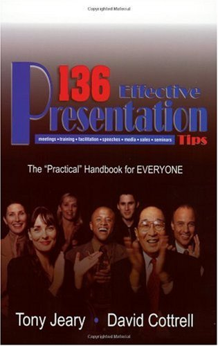 136 Effective Presentation Tips   2002 edition cover