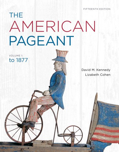 American Pageant To 1877 15th 2013 edition cover