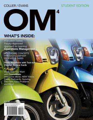 OM4  4th 2013 (Student Manual, Study Guide, etc.) edition cover