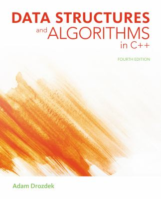 Data Structures and Algorithms in C++  4th 2013 edition cover