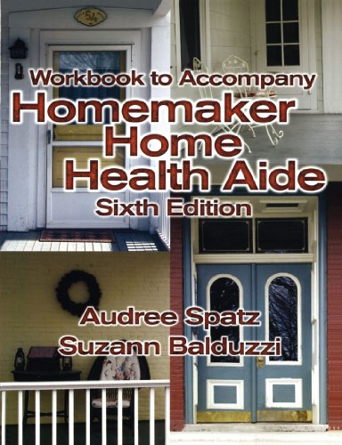 Homemaker Home Health Aide  6th 2005 9781401831424 Front Cover
