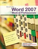Microsoft Office Word 2007 for Medical Professionals   2008 edition cover