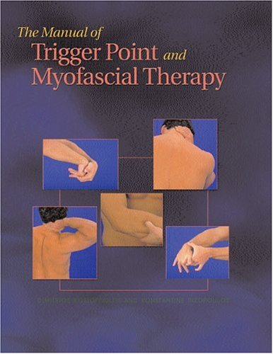 Manual of Trigger Point and Myofascial Therapy   2001 edition cover