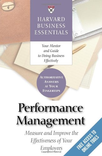 Performance Management Measure and Improve the Effectiveness of Your Employees  2006 edition cover