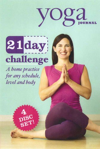 Yoga Journal: 21 Day Challenge Transform Your Body in 3 Weeks (4 Disc Set) System.Collections.Generic.List`1[System.String] artwork