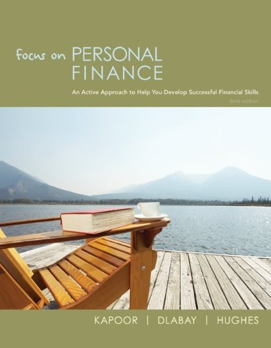 Focus on Personal Finance  3rd 2010 edition cover