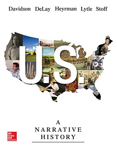 U. S. A Narrative History 7th 2015 9780077780425 Front Cover