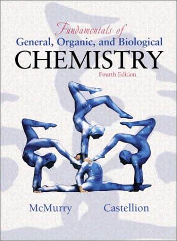 Fundamentals of General, Organic and Biological Chemistry  4th 2003 edition cover