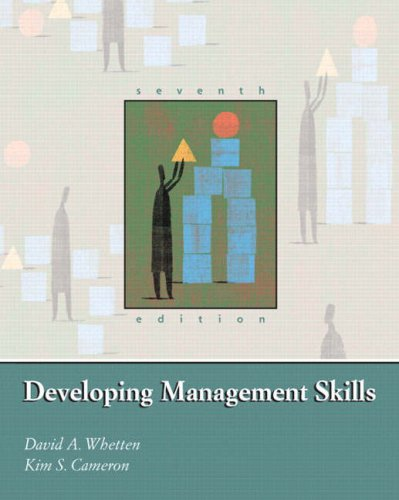 Developing Management Skills  7th 2007 (Revised) edition cover