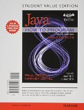 Java How to Program Early Objects 10th 2015 9780133813425 Front Cover