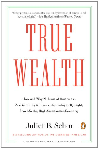 True Wealth How and Why Millions of Americans Are Creating a Time-Rich, Ecologically Light, Small-Scale, High-Satisfaction Economy  2011 edition cover
