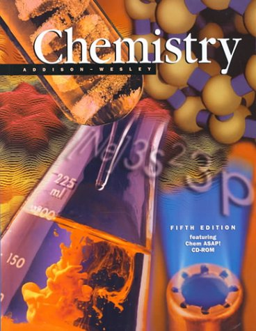 Addison-Wesley Chemistry 5th 2000 (Student Manual, Study Guide, etc.) 9780201321425 Front Cover