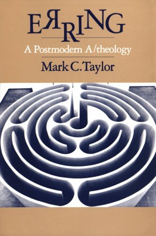 Erring A Postmodern A/Theology Reprint  edition cover
