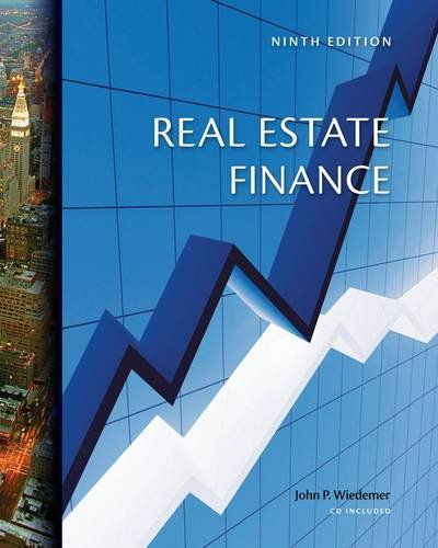 Real Estate Finance  9th 2013 edition cover