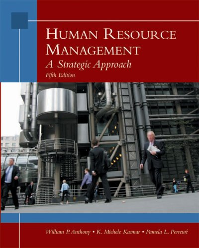 Human Resource Management A Strategic Approach 5th 2006 edition cover