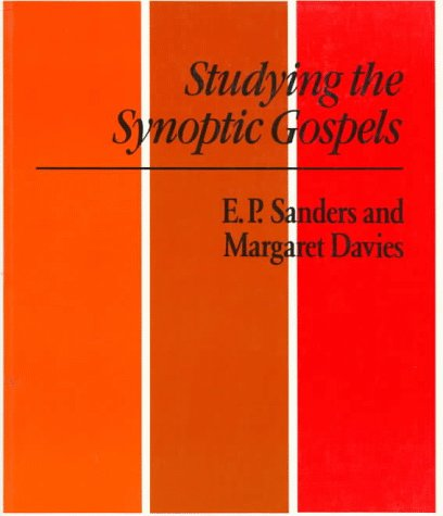 Studying the Synoptic Gospels   1989 9780334023425 Front Cover