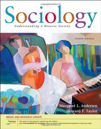 Sociology Understanding a Diverse Society 4th 2008 (Revised) edition cover
