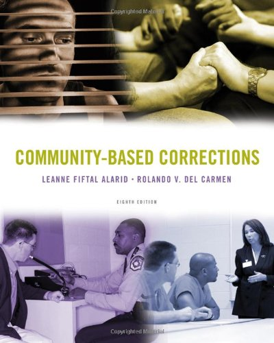 Community-Based Corrections  8th 2011 edition cover