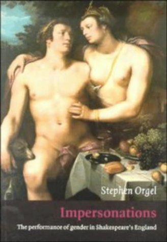 Impersonations The Performance of Gender in Shakespeare's England  1996 edition cover