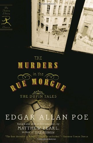 Murders in the Rue Morgue The Dupin Tales  2006 edition cover