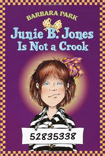 Junie B. Jones Is Not a Crook   1997 edition cover