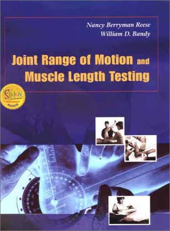 Joint Range of Motion and Muscle Length Testing   2002 edition cover