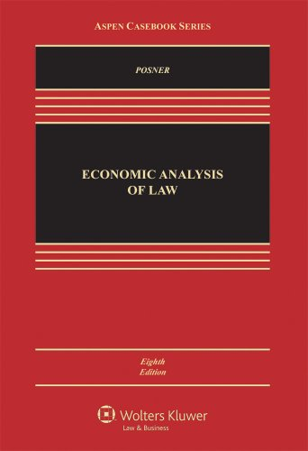 Economic Analysis of Law  8th 2010 (Revised) edition cover