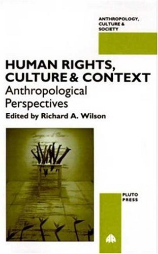 Human Rights, Culture and Context   1996 9780745311425 Front Cover