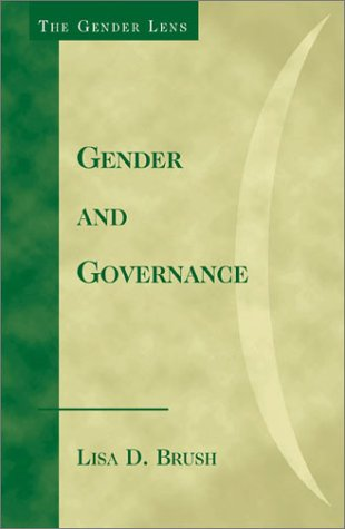 Gender and Governance   2003 edition cover