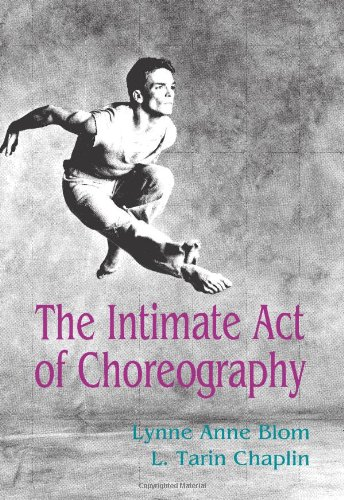Intimate Act of Choreography   1982 edition cover