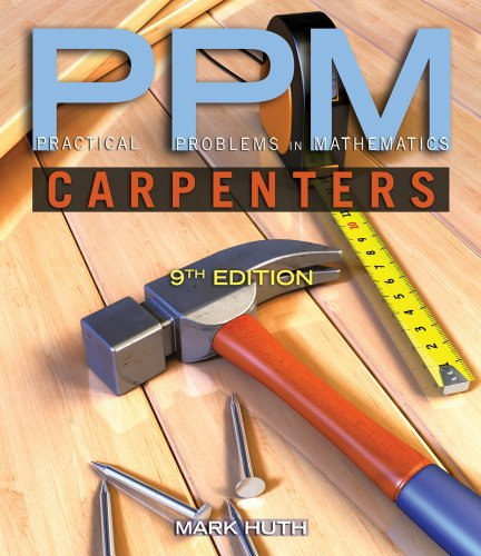 Practical Problems in Mathematics for Carpenters  9th 2012 edition cover