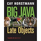 Big Java Late Objects  2013 9781118129425 Front Cover