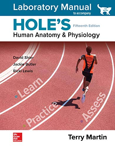 Laboratory Manual for Hole's Human Anatomy & Physiology Cat Version 15th 9781260165425 Front Cover